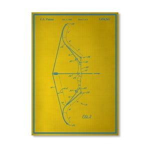 Plakát Bow II, 30x42 cm