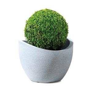Venkovní květináč Globe 60 cm, světlý