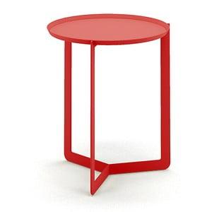Červený příruční stolek MEME Design Round, Ø40cm