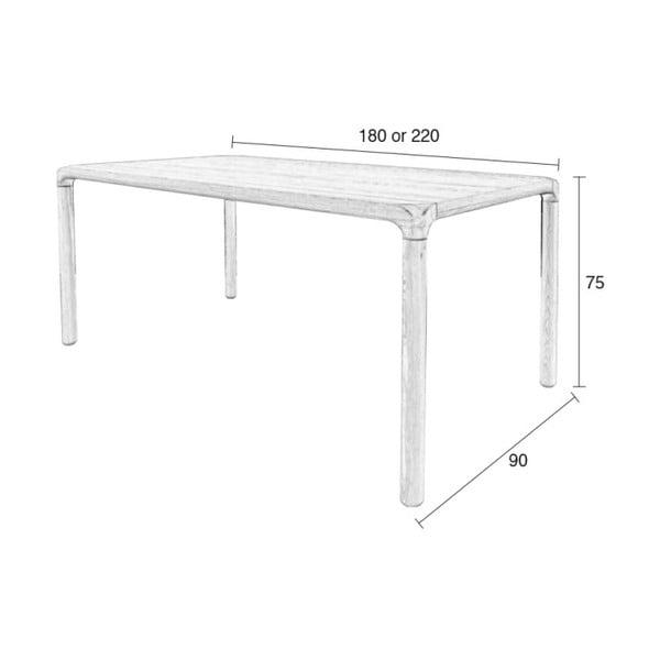 Jídelní stůl Zuiver Storm, 180x90 cm