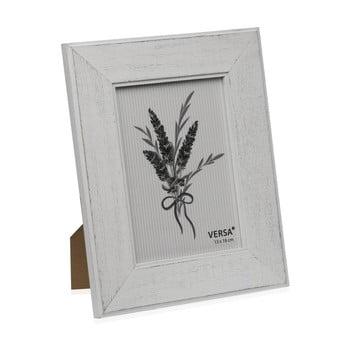Ramă foto din lemn pentru fotografie Versa Madera Blanco, 13x18cm de la Versa