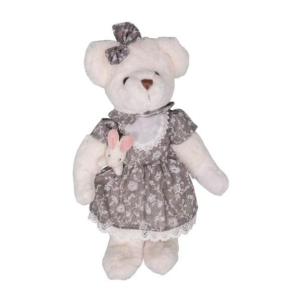 Bílý plyšový medvídek Antic Line Oursonne