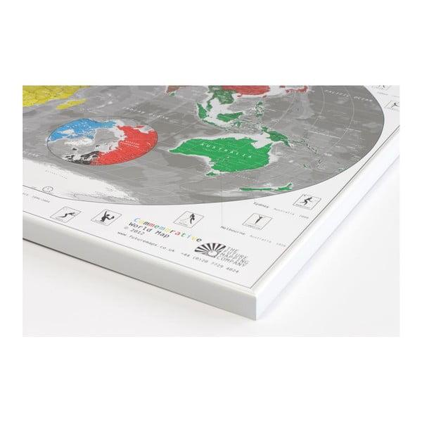 Mapa světa The Future Mapping Company Commemorative World Map, 101x60cm