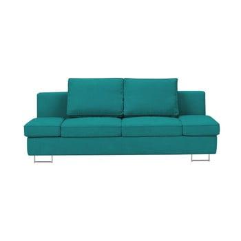Canapea extensibilă cu două locuri Windsor & Co Sofas Iota, turcoaz de la Windsor & Co Sofas