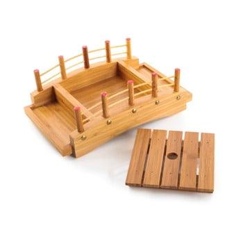 Platou din bambus pentru aperitive Bambum Pierra de la Bambum