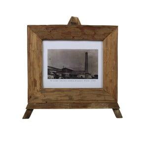 Rámeček na fotografie z teakového dřeva HSM Collection Nesia,43x36cm