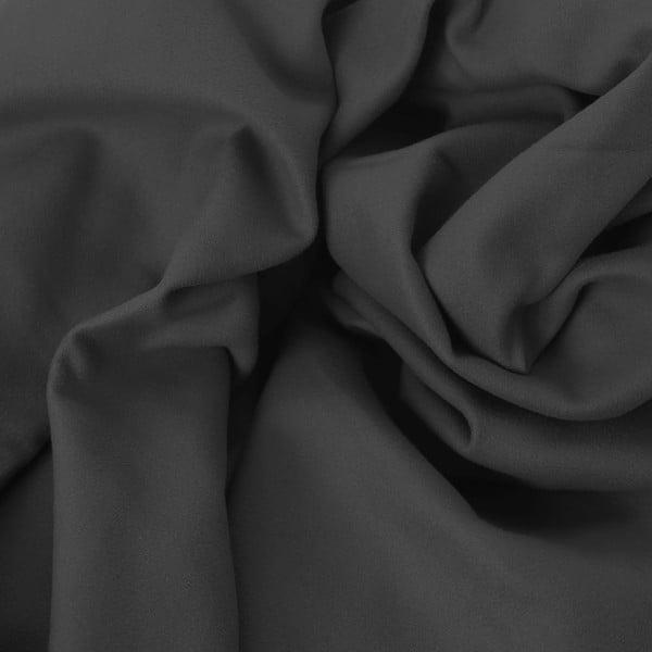 Tmavě šedá rychleschnoucí osuška DecoKing EKEA, 60 x 120 cm