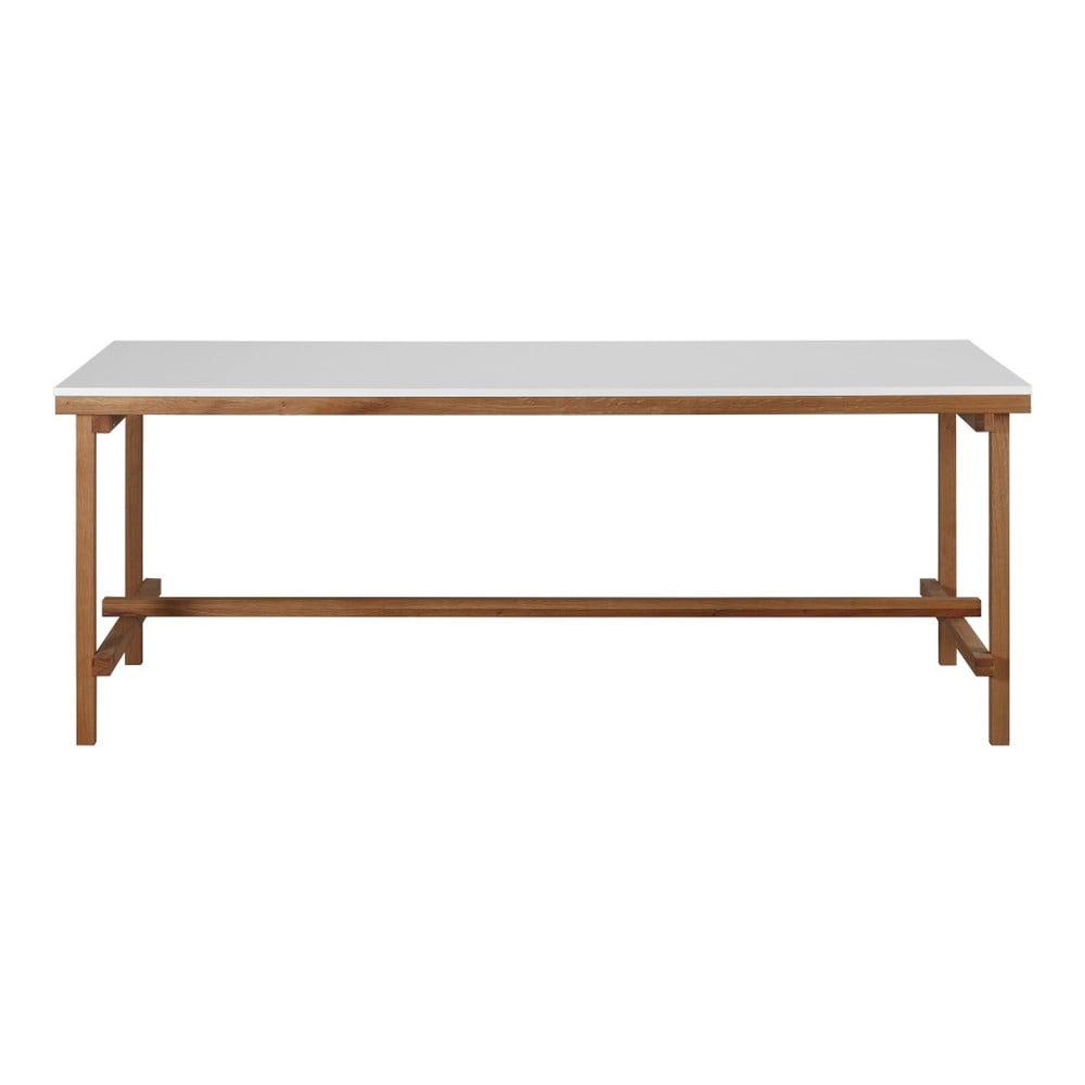 Dřevěný jídelní stůl Artemob Construction, 200 x 75 cm