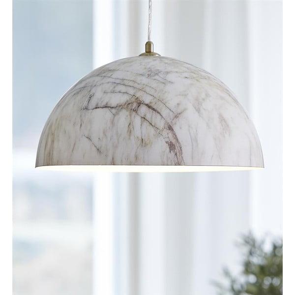 Závěsné světlo s aplikací mramoru Markslöjd Rock
