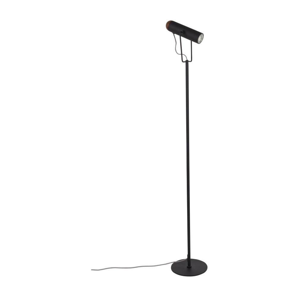 Černá stojací lampa Zuiver Marlon