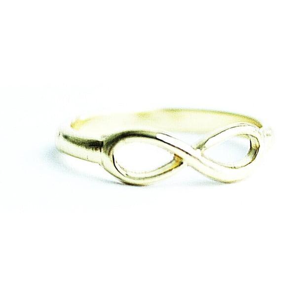 Prsten Golden Infinity