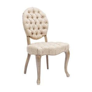 Sada 2 krémových židlí Kare Design Duchess
