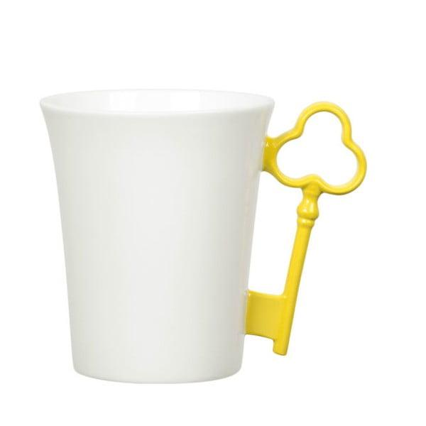Hrnek Key, žlutý