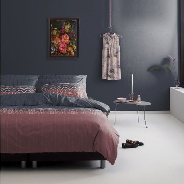 Povlečení Silence Rose Brown, 140x200 cm