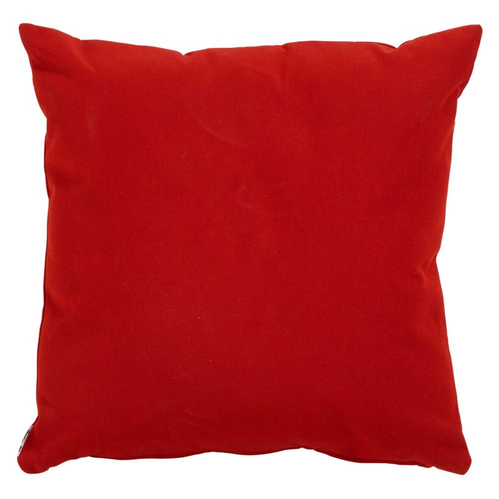 Červený zahradní polštář Hartman Havana, 50x50cm