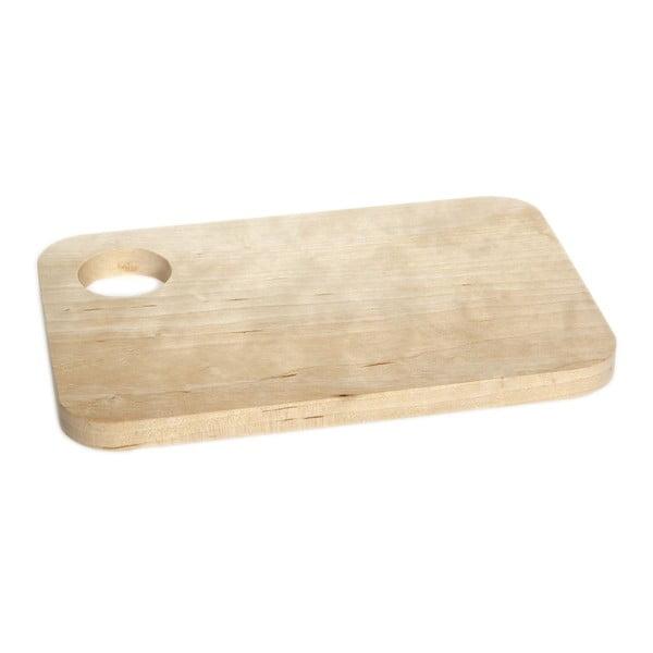 Dřevěné prkénko se stojánkem na vajíčka Iris Hantverk Sandwich