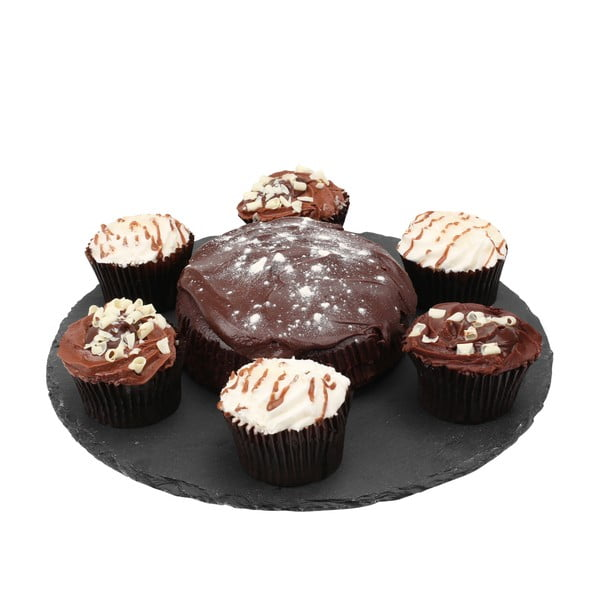 Slate palakő süteményes tálca, ⌀ 30 cm - Premier Housewares