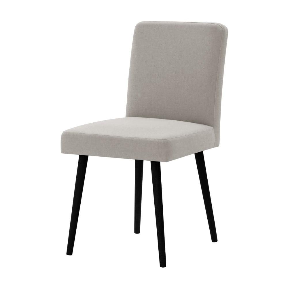 Béžová židle s černými nohami Ted Lapidus Maison Fragrance
