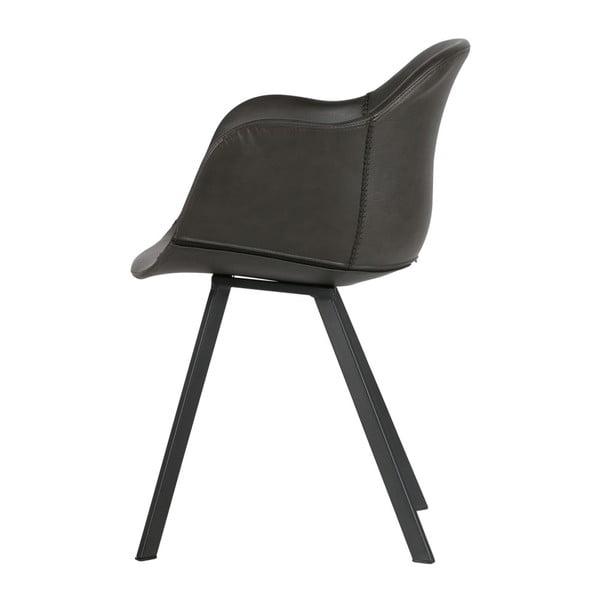 Sada 2 černých židlí De Eekhoorn Freek