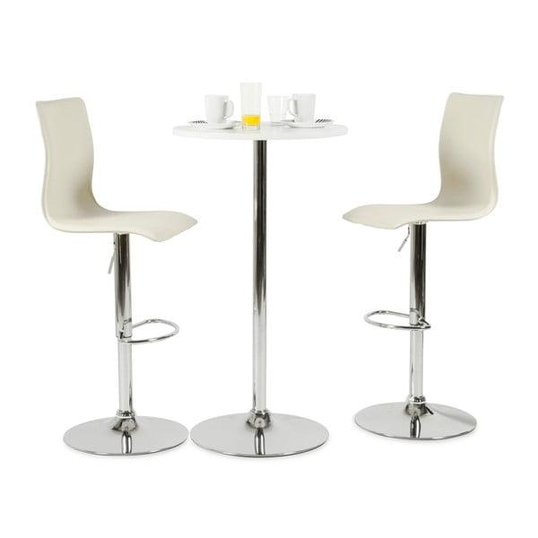 Krémová barová židle Kokoon Soho