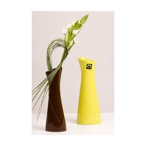 Váza Rhona 23 cm, hnědá