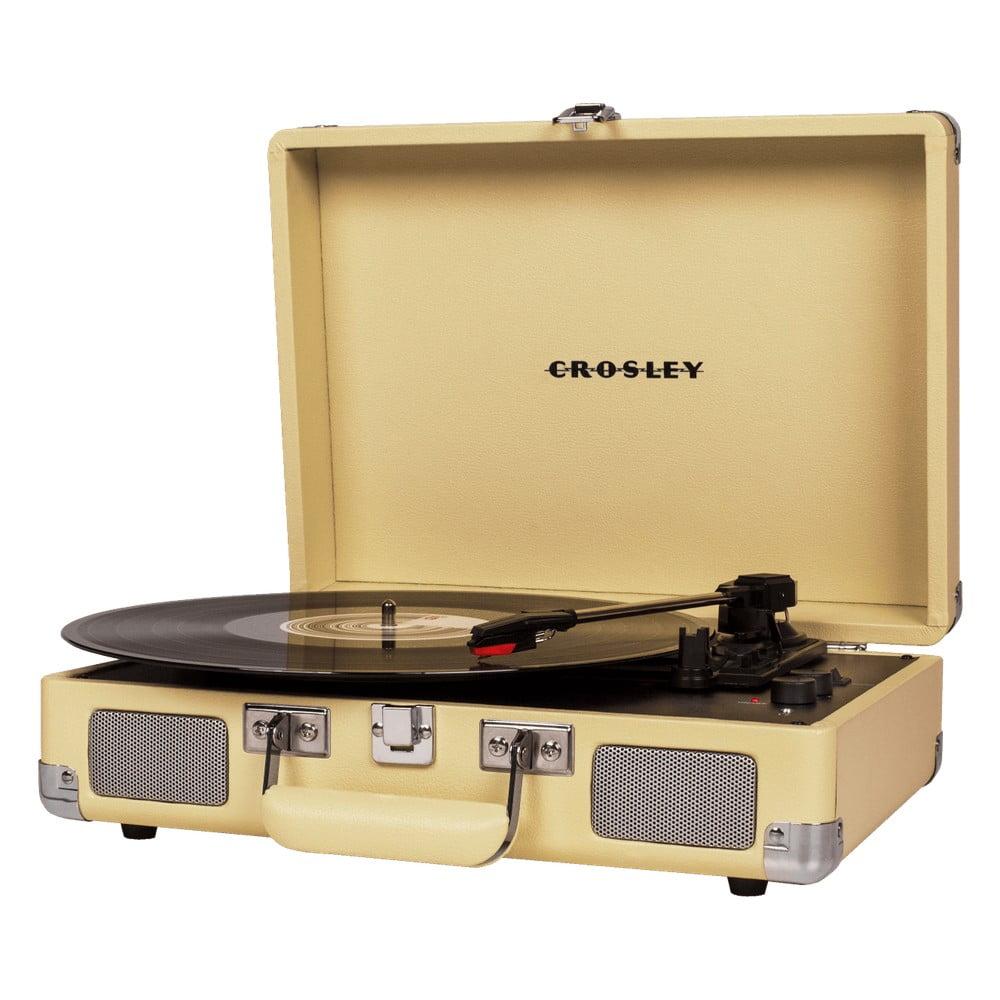 Žlutý gramofón Crosley Cruiser Deluxe