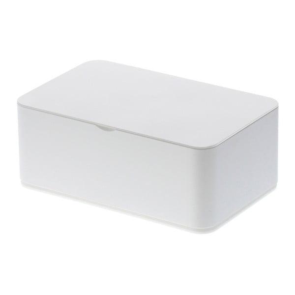 Cutie pentru șervețele umede YAMAZAKI Smart, alb