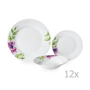12dílná porcelánová sada nádobí Sabichi Viola