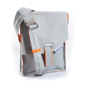 Taška The Trunk, grey/orange