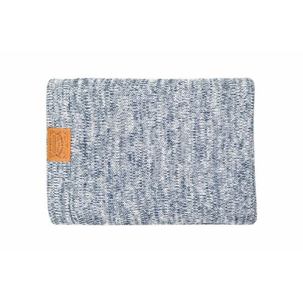 Modrá deka Hawke&Thorn Parker, 180x130cm