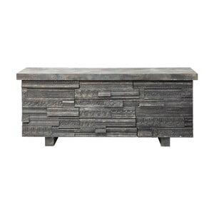 Komoda z borovicového dřeva se 3 zásuvkami Kare Design gate
