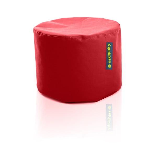 Sedací vak Taburet, červený
