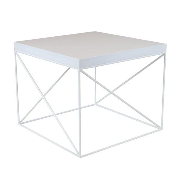 Odkládací stolek Oslo White