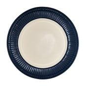 Farfurie Green Gate Alice, diametru 26,5 cm albastru închis