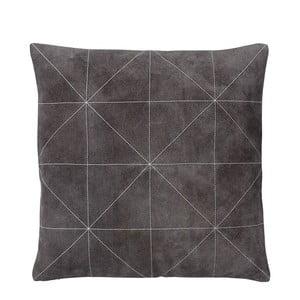 Polštář s náplní Triangle Grey, 45x45 cm