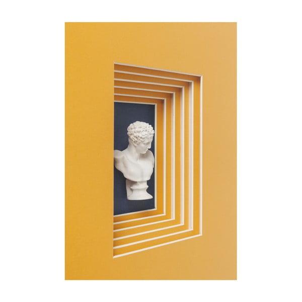 Decorațiune de perete Kare Design Ancient Bust I., 50 x 40 cm