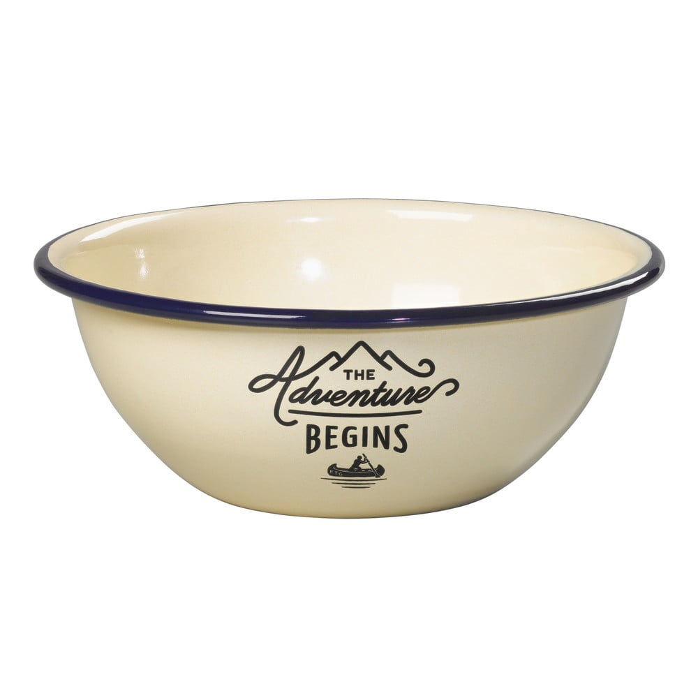 Fotografie Smaltovaná miska Gentlemen's Hardware Tumbler Bowl Enamel
