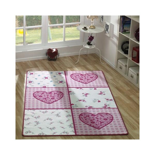 Dětský koberec Romantik, 133x190 cm