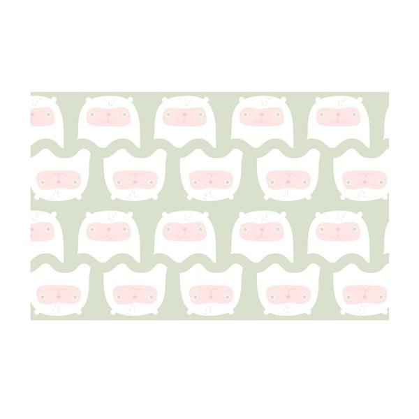 Vliesová tapeta Happy kittens 270x46.5 cm, zelenkavá