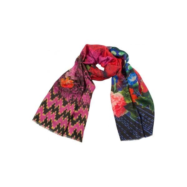 Vlněný šátek Shirin Sehan Valeria