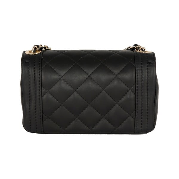 Černá kabelka z pravé kůže Andrea Cardone Elena