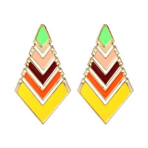 Náušnice Chevron Pop Light Multi