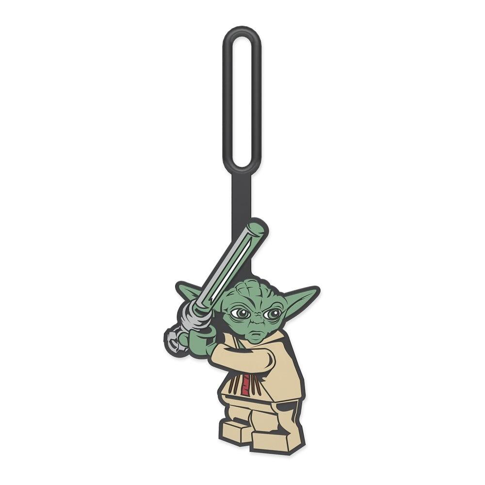 Jmenovka na zavazadlo LEGO® Star Wars Yoda LEGO®