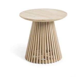 Konferenční stolek z týkového dřeva La Forma Irune, ø 150 cm
