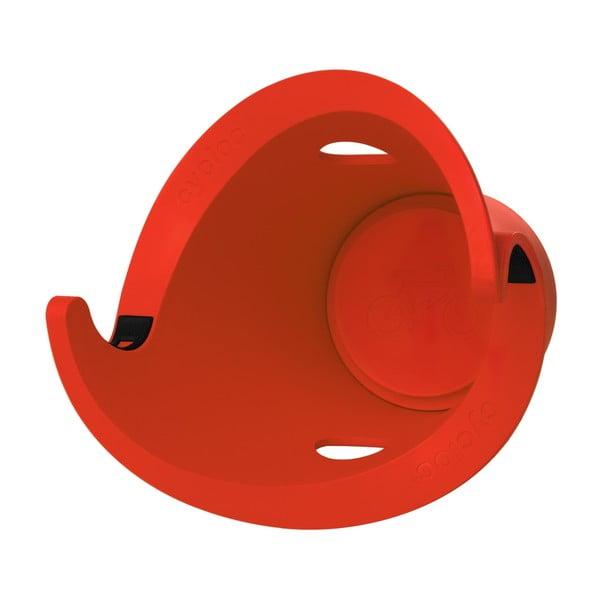 Designový držák na kolo Solo, červený