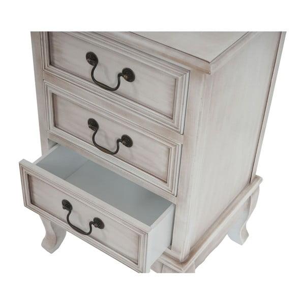 Skříňka se 3 zásuvkami Antique White