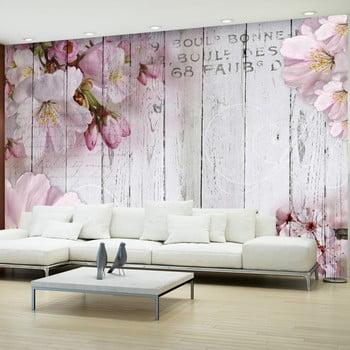 Tapet format mare Bimago Apple Blossoms, 300 x 210 cm de la Bimago