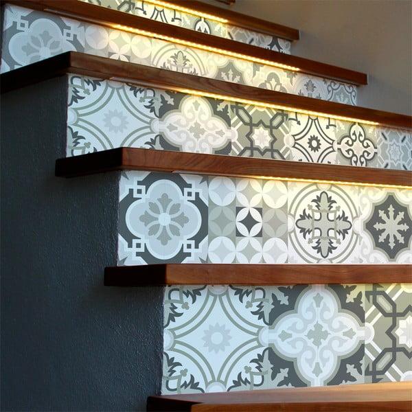 Oslo 2 db-os lépcsőmatrica szett, 105 x 15 cm - Ambiance