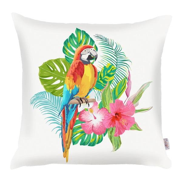Poszewka na poduszkę Apolena Parrots Life, 43x43 cm