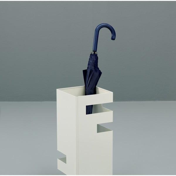 Bílý stojan na deštníky Design Twist Jever